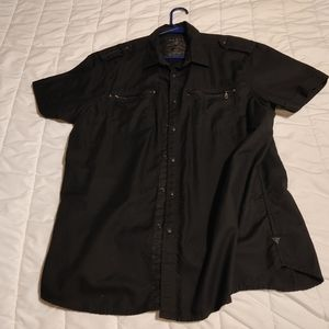Guess Button UP NWOT
